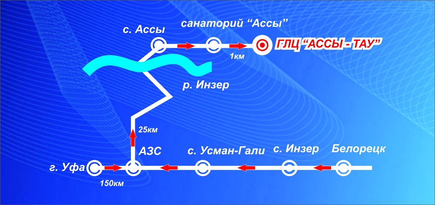 Куда (ГЛЦ).  Предоставляемые услуги.  Карта Ассы-Тау.  Жилье.  Дата выезда.
