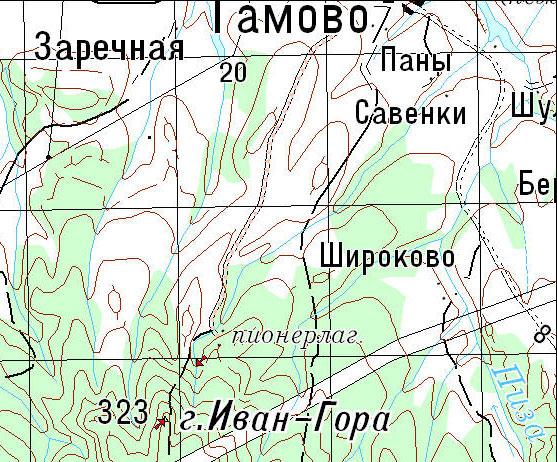 Схема проезда Пермь (Балатово)