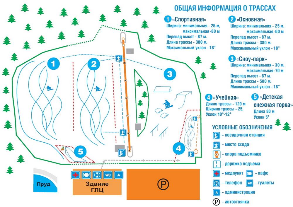 """Горнолыжный курорт  """"Райдер """" расположен в Челябинской области, в северной части города Миасс (Машгородок)..."""