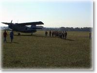 Первый прыжок с парашютом (от студии СР)